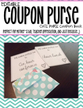 Coupon Book-Editable