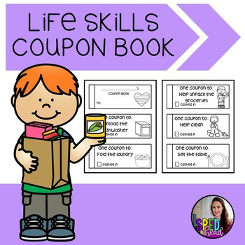 Coupon Book: Life Skills Chores