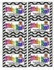 Coupon Incentives for the Classroom - Black Chevron