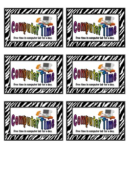 Coupon Incentives for the Classroom - Zebra