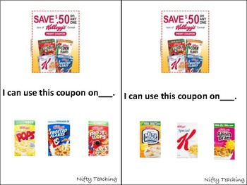 Coupon Reading Practice