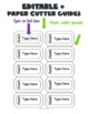 Coupon Reward/Incentive Tickets/Coupons-Classroom Management (Editable Template)