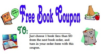 Coupon for a Free Book