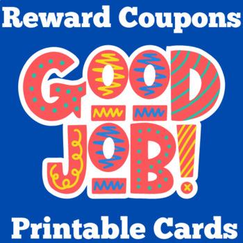 Class Reward Coupons | Student Rewards | Class Awards