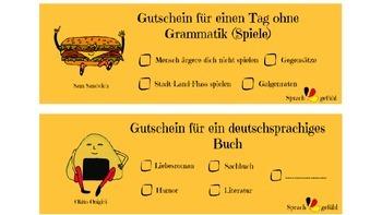 Coupon Rewards for German Students - Gutscheine