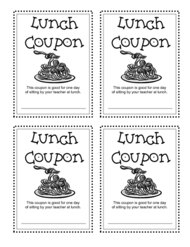 Coupons, Rewards for Students- Reward your students for free!