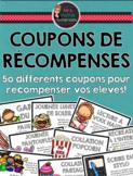 Coupons de récompense - French Reward Coupons