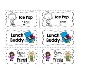 Coupons for Good Behavior