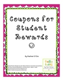 Coupons for Student Rewards