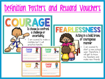COURAGE Character Education Packet