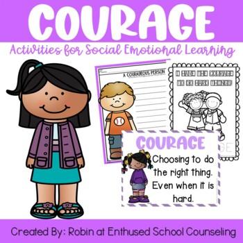 Courage Activity Pack- 7 Activities