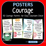 Courage Posters 50 Great Motivational Quotes