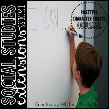 Courage (Social Studies Extensions)