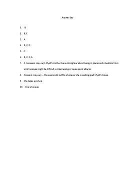 Courage for Beginners by Karen Harrington Chapters 1-3 Quiz