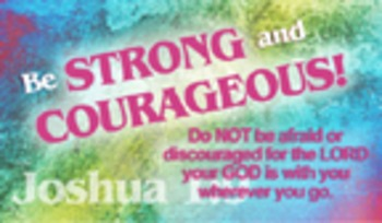 Encouragement Cards - Courageous