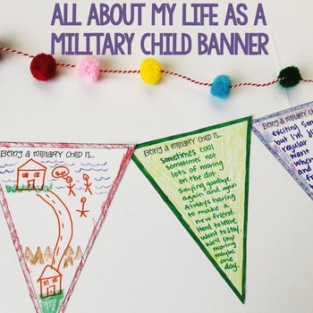 Month of the Military Child Poster/Handout Pack - Elementary School Counseling