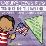 Month of the Military Child Poster and Handout Pack for Elementary School