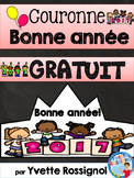 Couronne BONNE ANNÉE (French New Year Crown)