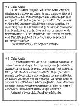 French subjunctive writing project/Projet d'écriture au subjonctif