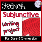 French subjunctive writing project/Projet d'écriture au su