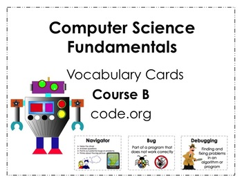 Course B code.org Vocabulary Posters