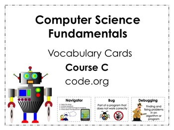 Course C code.org Vocabulary Posters
