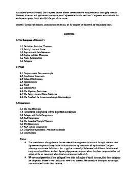 Course Contents with Commentary