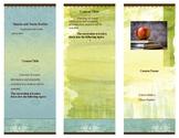 Course Description Brochure template