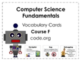 Course F code.org Vocabulary Posters