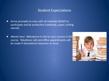 Course Introductions and Student Expectations