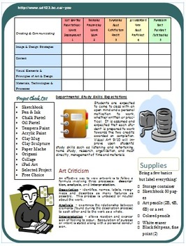 Course Outline - Editable Newsletter Style
