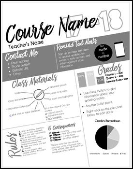 Course Syllabus Infographic