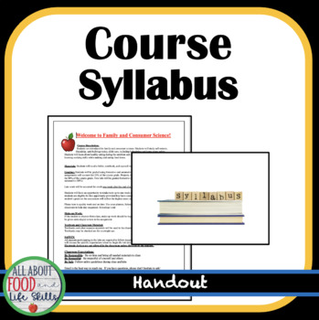 Course Syllaus for FACS