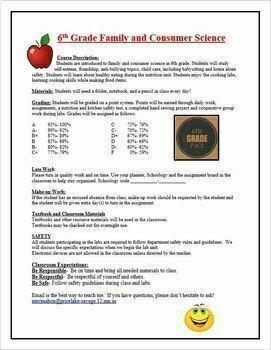 Course Syllabus for FACS