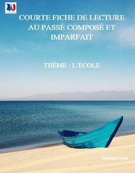 Extrait de : courte fiche de lecture au passé French immersion (#5001)