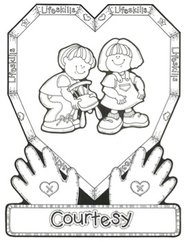 Courtesy Song - MP3, Lyrics, & Coloring Page
