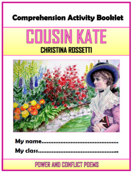 Cousin Kate Comprehension Activities Booklet!
