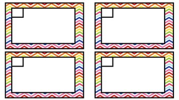 Counting Patterns Task Cards