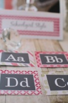 Classroom Decor Vintage Pink Chic Collection
