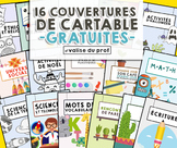 Couvertures de cartables gratuites - free cover binder
