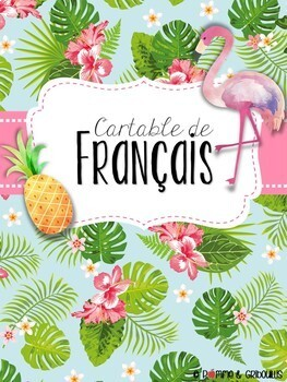 Couvertures de cartables tropicales modifiables