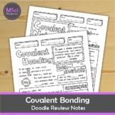 Covalent Bonding Doodle Color Review Chemistry Science