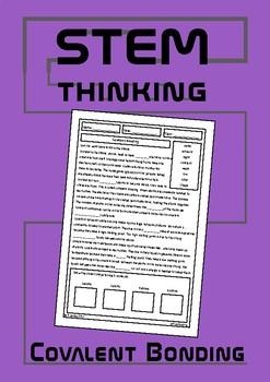 Covalent Bonding Homework Review Worksheet- Middle School Chemistry