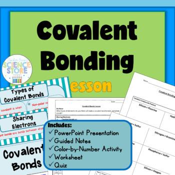 Covalent Bond Worksheet Teaching Resources Teachers Pay Teachers