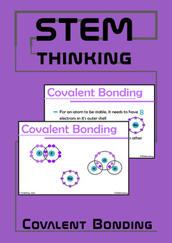 Covalent Bonding Powerpoint Presentation - Middle and High School Chemistry