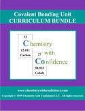 Covalent Bonding Unit - CURRICULUM BUNDLE