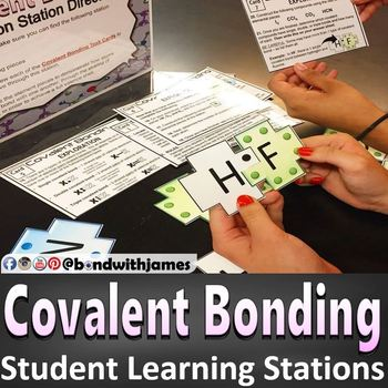 Covalent Bonding and Covalent Compound Student Learning Stations
