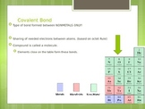 Covalent Bonding and Lewis Structure Notes