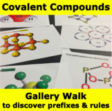 Covalent Compounds Naming - Inquiry Gallery Walk