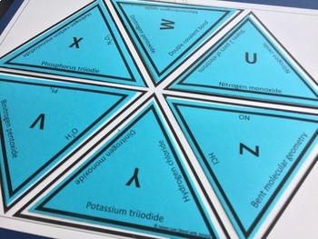 Covalent Compounds and Covalent Bonding Tarsia Puzzles